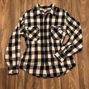 Arizona basic plaid long sleeve shirt